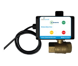 Z-Wave Automatic Water Valve Shut-Off