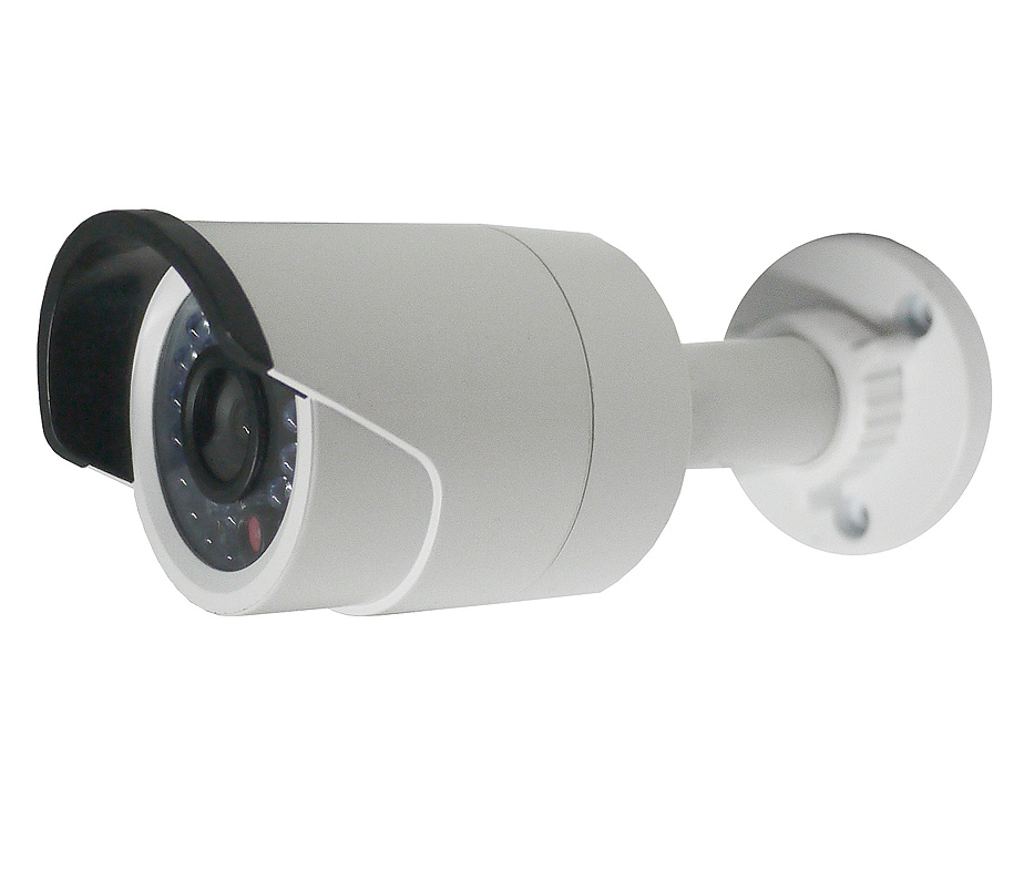 2 MP Mini-Bullet Camera with IR LED and 4mm Fixed Lens