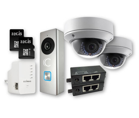 ClareVision Plus Cameras and SD Cards Kit
